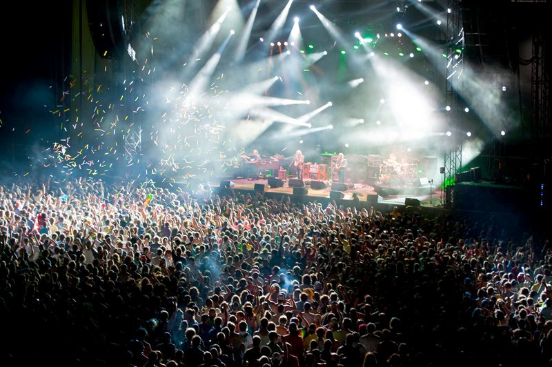 Phish Gorge Crowd Lights